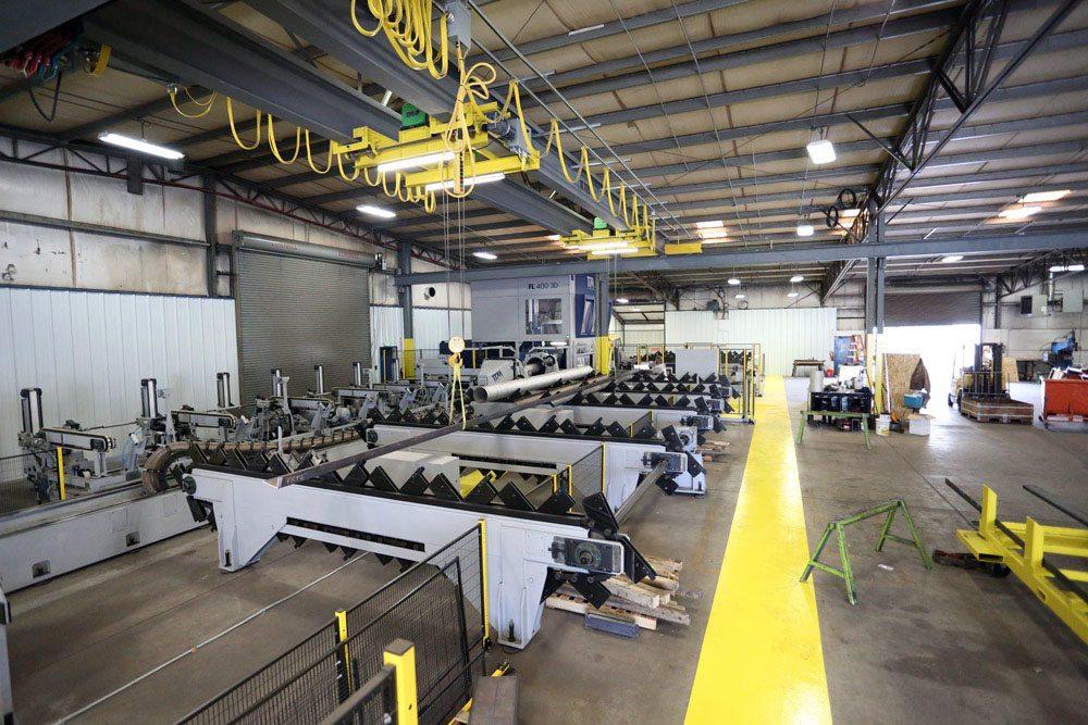 Tube Laser Cutting Richards Sheet Metal Ogden Ut